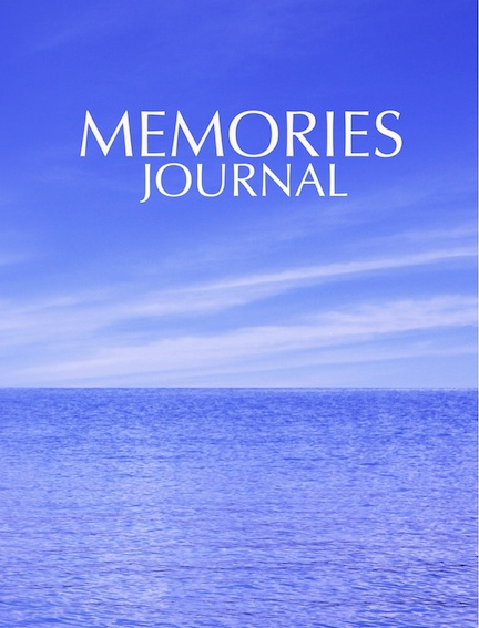 Memories Journal from Amazon